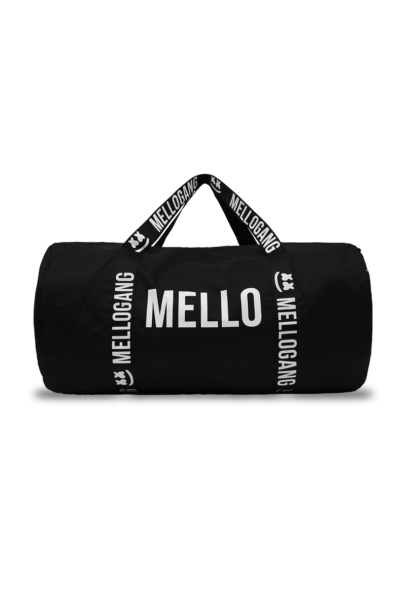 Smile Duffel Bag ACCESSORIES Mellogang Black