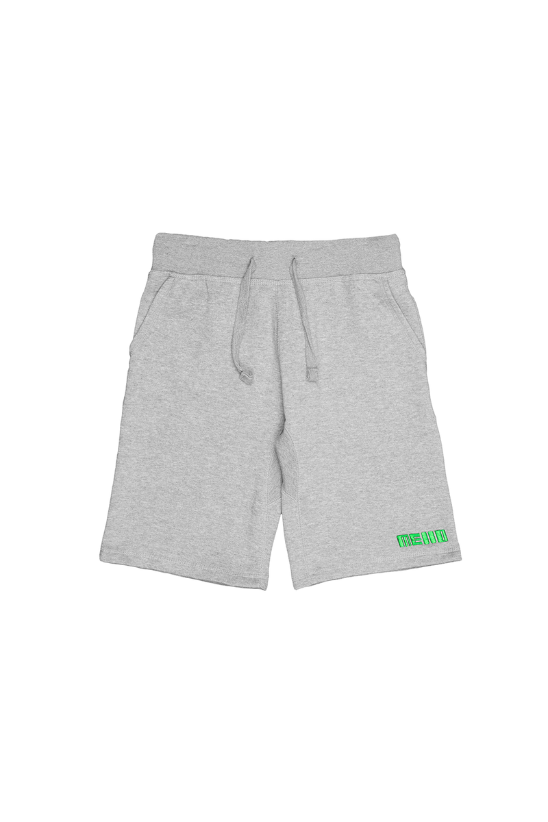 Loose Jogger Sweatshorts BOTTOMS Mellogang S Athletic Heather
