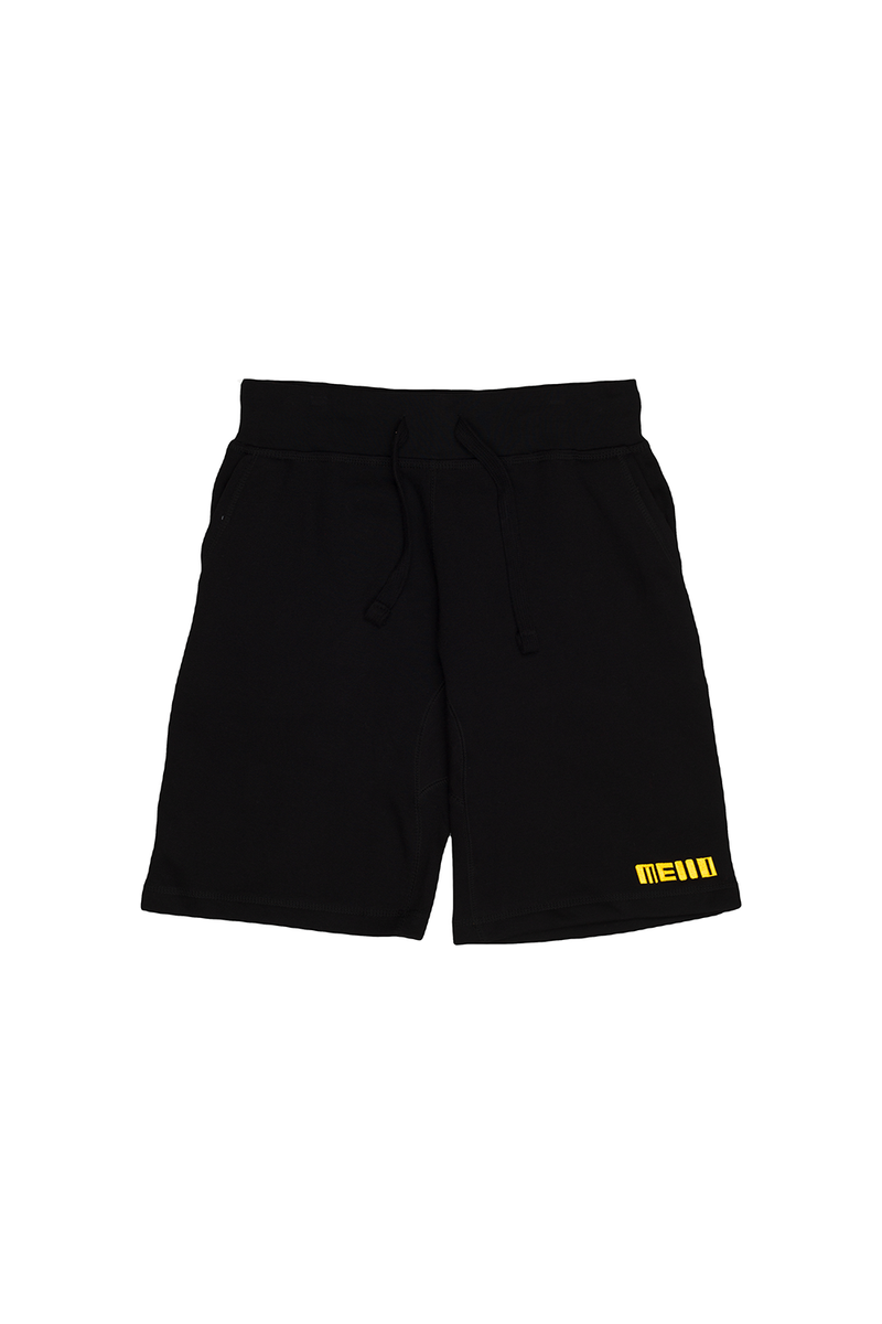 Loose Jogger Sweatshorts BOTTOMS Mellogang S Black