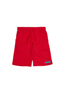 Loose Jogger Sweatshorts BOTTOMS Mellogang S Red