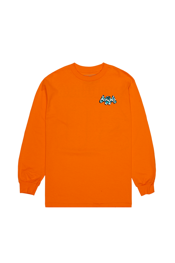 Wavy Mellogang 30 L/S Shirt LONG SLEEVE Mellogang S Orange