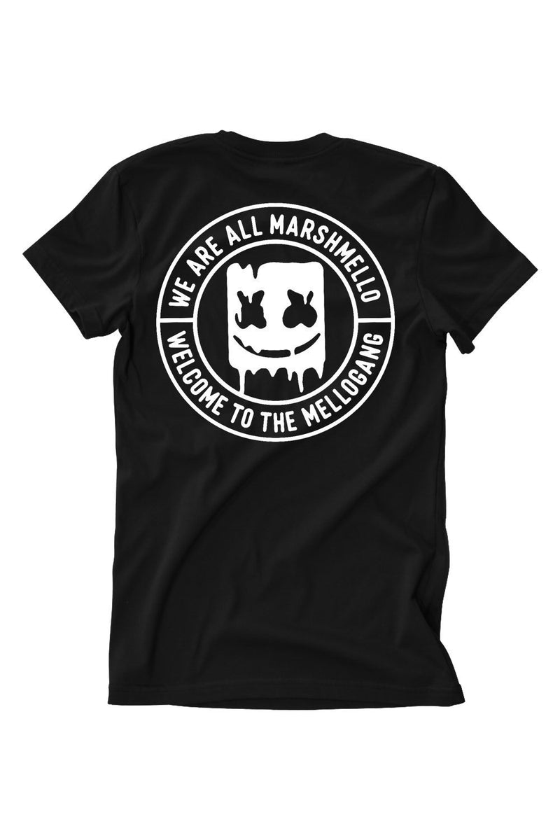 Welcome to the Mellogang T-Shirt T-SHIRT MelloGang S Black