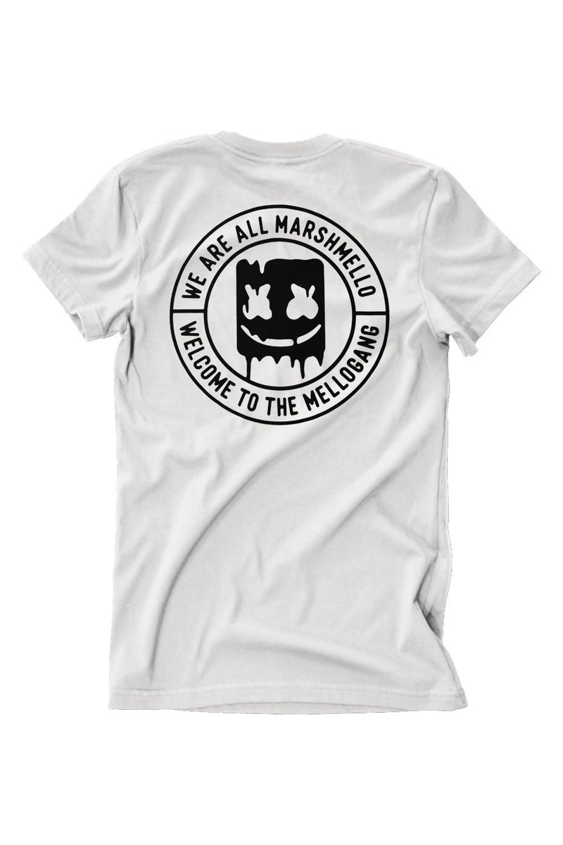 Welcome to the Mellogang T-Shirt T-SHIRT MelloGang S White