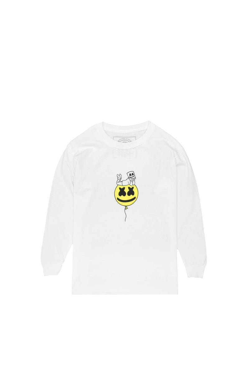 Wonder L/S Shirt (Youth) YOUTH MelloGang XS White