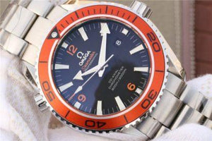 Omega Planet Ocean Seamaster Black Dial 600M 2208.50.00 - Watches-2019