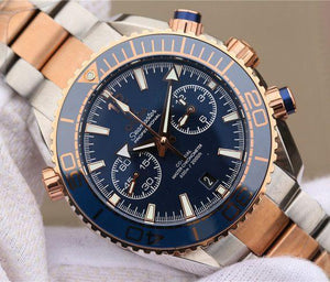 Omega Seamaster Planet Ocean Bule Dial 215.20.46.51.03.001 - Watches-2019