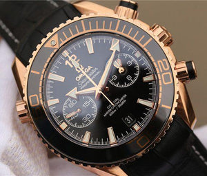 Omega Seamaster Planet Ocean Rose Gold 23263465101001 - Watches-2019
