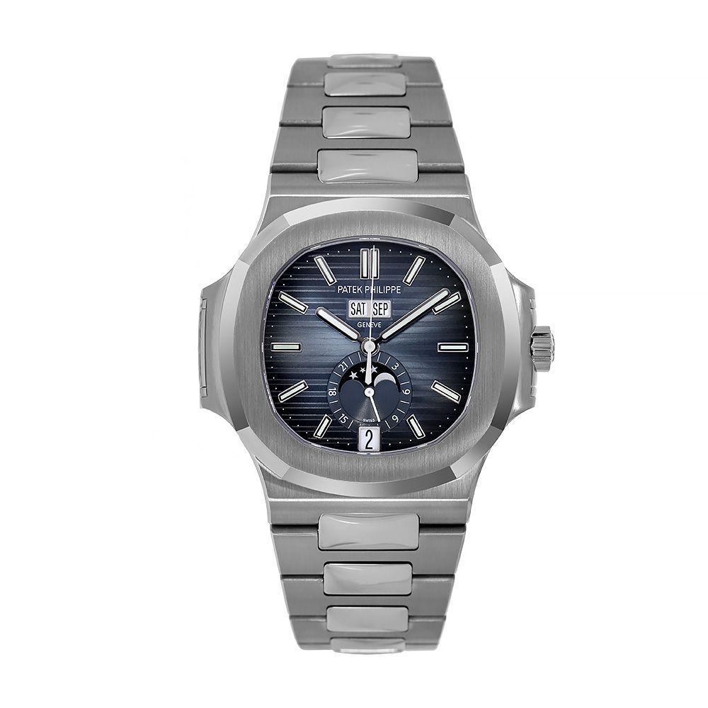 Patek Philippe Nautilus Blue Dial 5726/1A-014 - Watches-2019