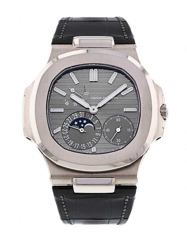 Patek Philippe Nautilus Slate Grey Dial 5712G-001 - Watches-2019