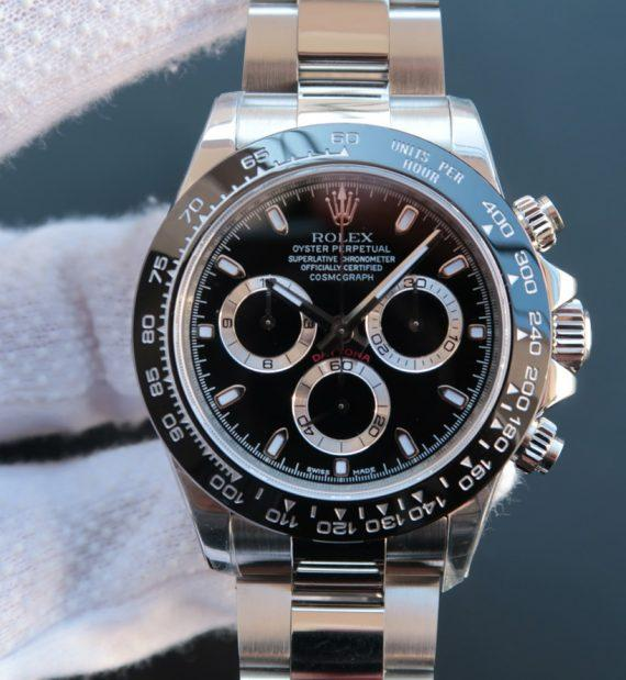 Rolex Cosmograph Daytona 116500LN Black Dial - Watches-2019