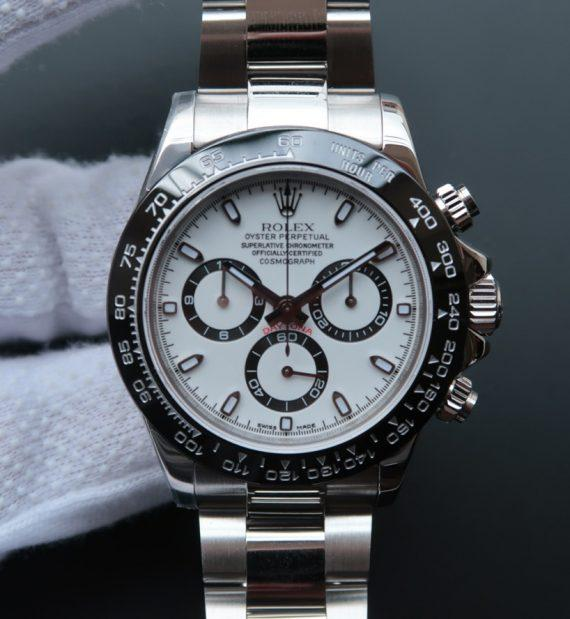 Rolex Cosmograph Daytona 116500LN White Dial - Watches-2019