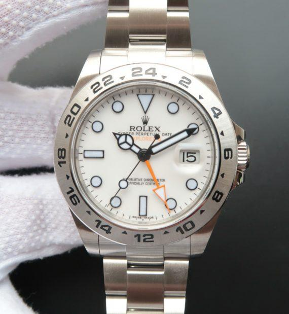Rolex Explorer II White Dial 42mm 216570 - Watches-2019