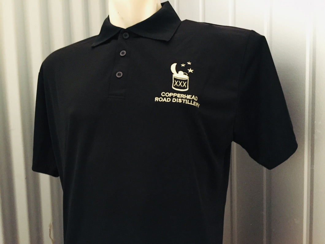 Polo shirt with logo - XL