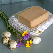 Donkey Milk, Quail Egg, & Beet Root Soap 4.5 oz