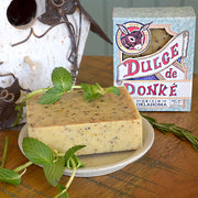 Rosemary Mint Donkey Milk Soap made in Oklahoma