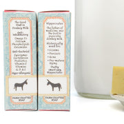 Pre-order for May 20th: Donkey Milk, Eucalyptus, Mint, & Moringa Soap 4.5 oz