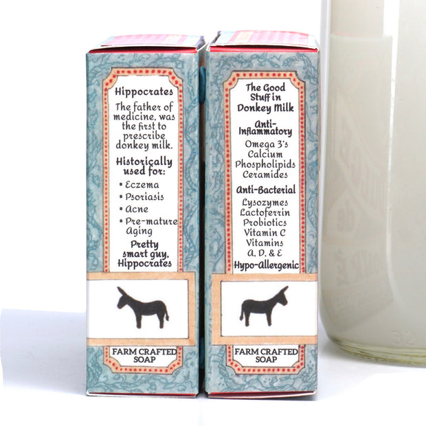 Pre-order for March: Donkey Milk Facial Bar with Frankincense and Manuka Honey 4.5 oz