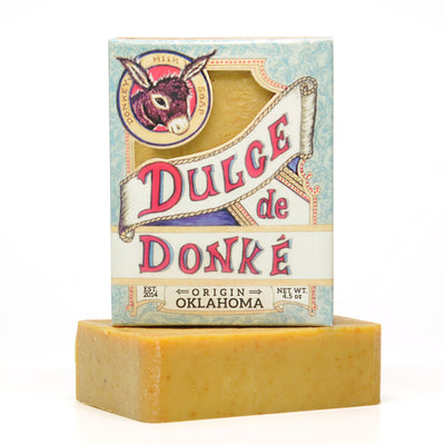 Orange Turmeric Donkey Milk Soap 4.5 oz