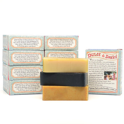 Three for $33: Assorted Donkey Milk Soaps