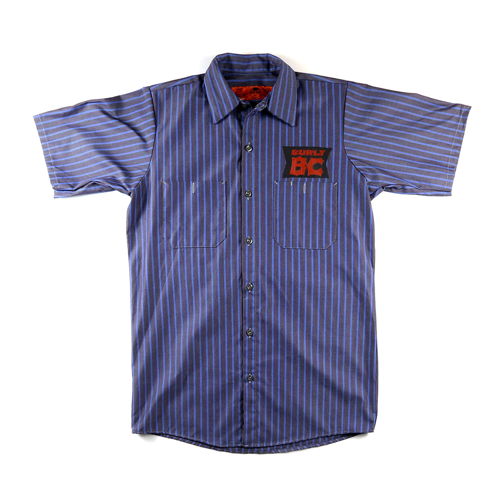 BC Work Shirt - Gray & Blue