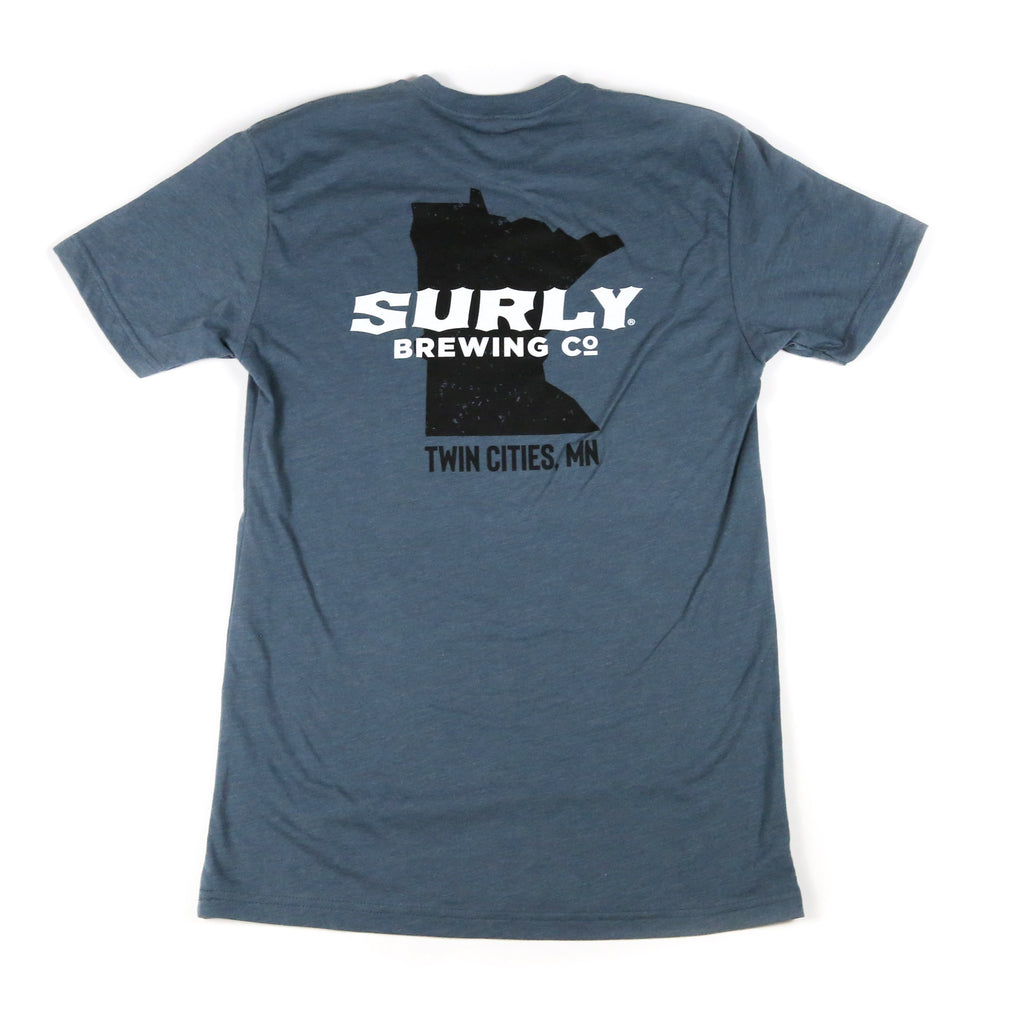 Surly MN State Logo Tee - Blue