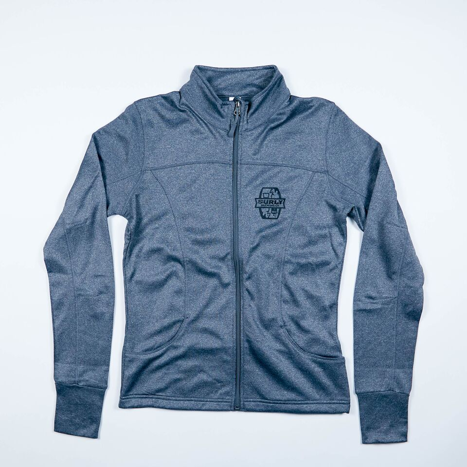 Women's Tech Zip Jacket - Gray