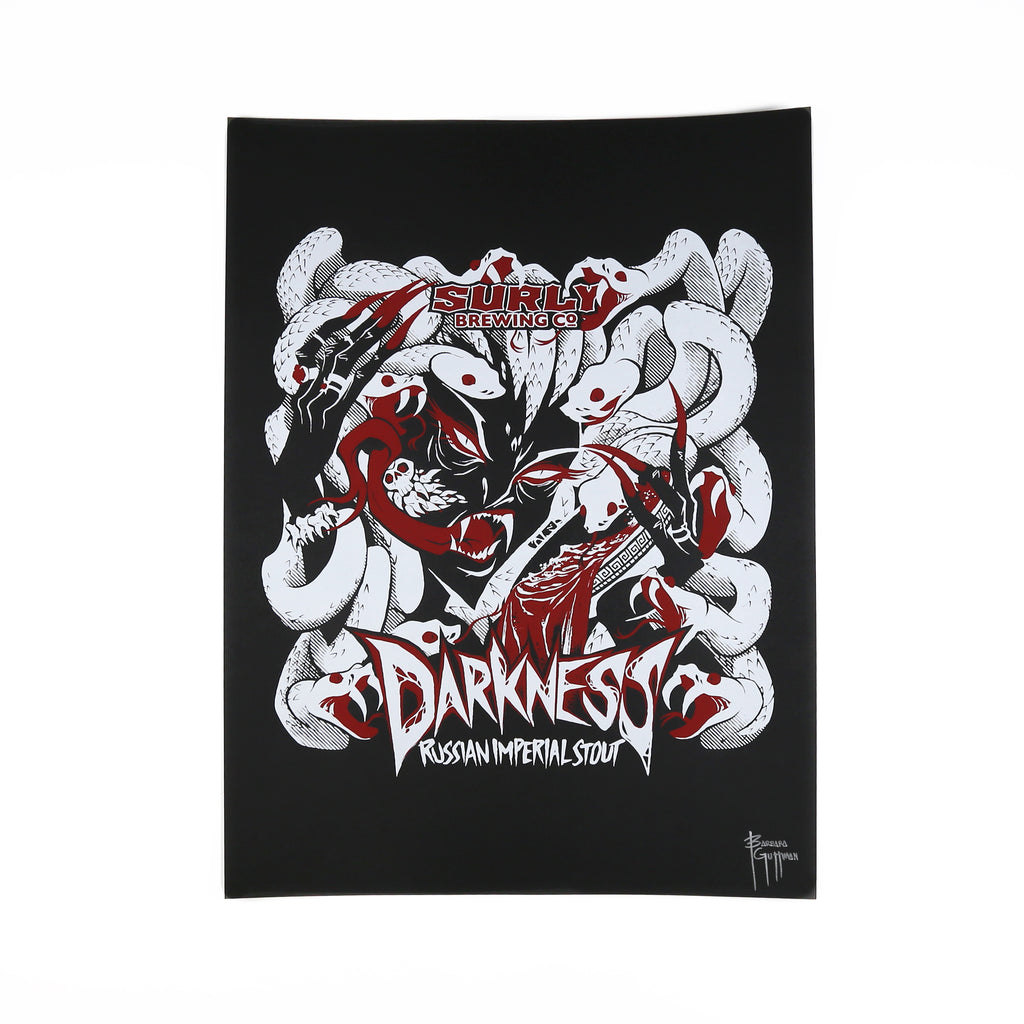 Surly Brewing Darkness Poster 2020