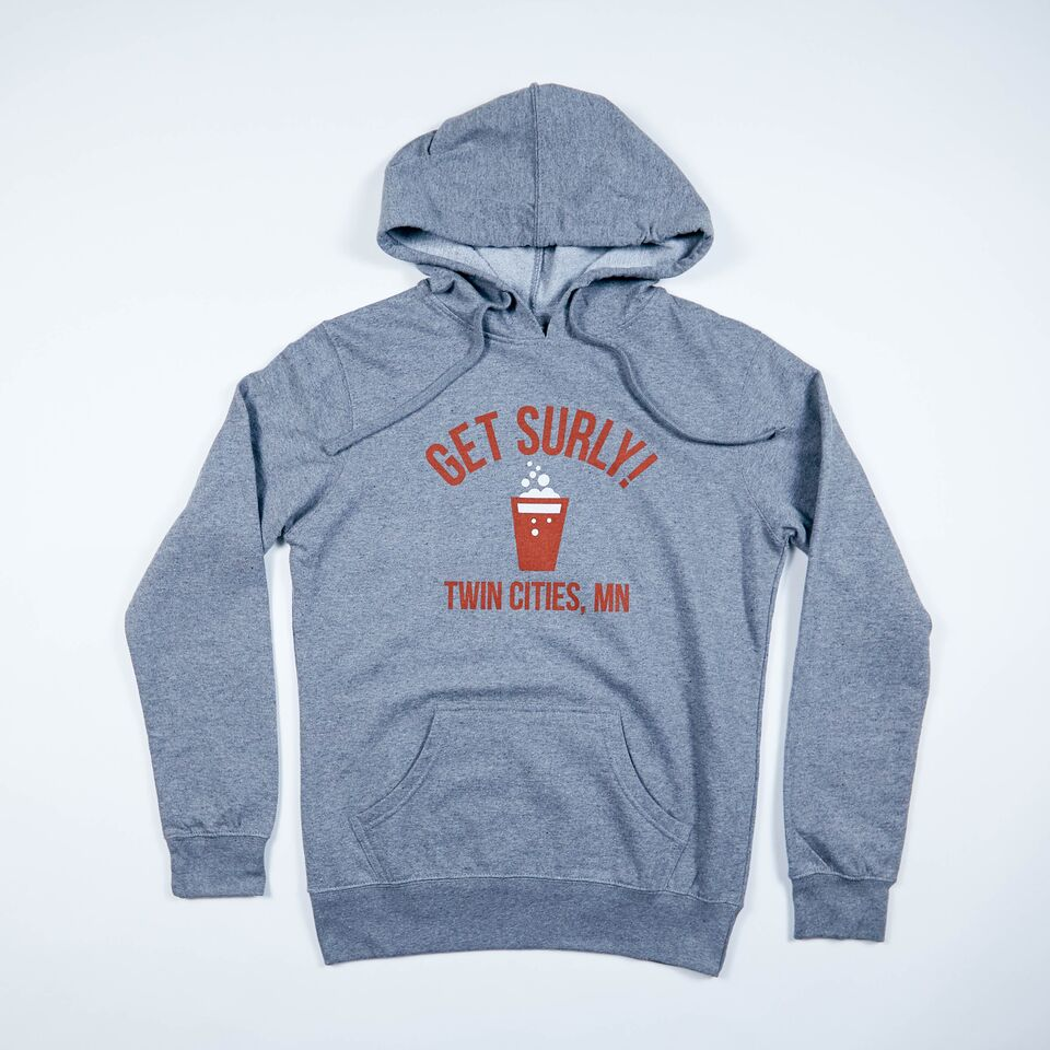 Women's Get Surly Hoodie - Charcoal