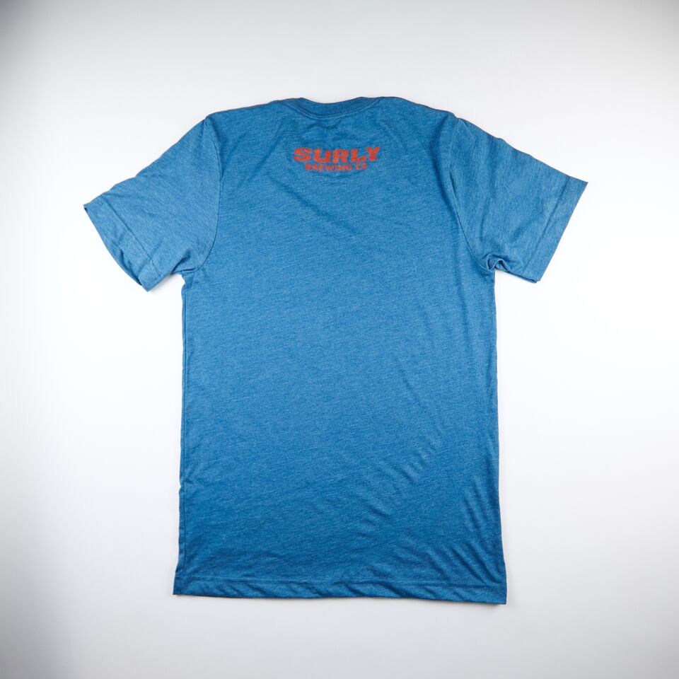 Men's S Logo Tee - Deep Heather Teal