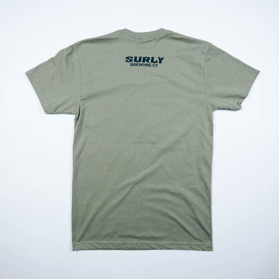 Men's S Logo Tee - Green