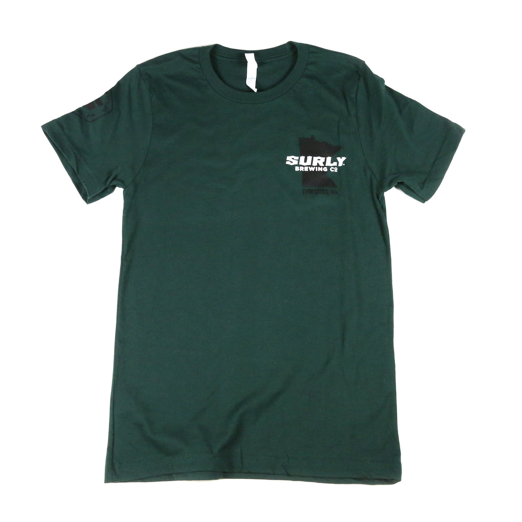Surly MN State Tee - Forest Green