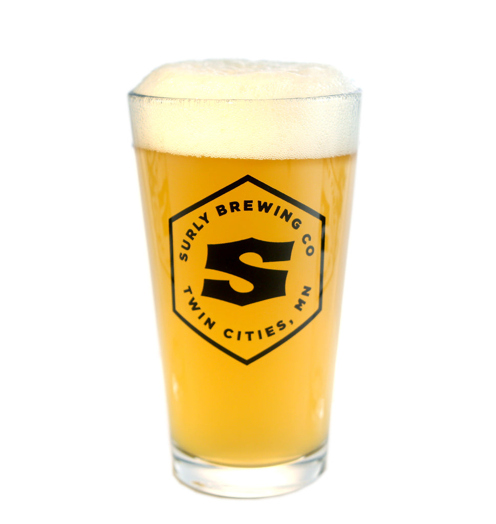 Surly Hex Logo Pint Glass