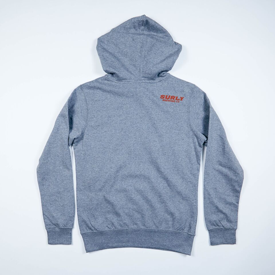 Get Surly Hoodie - Charcoal