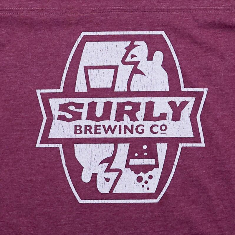 Women's Football Tee - Maroon