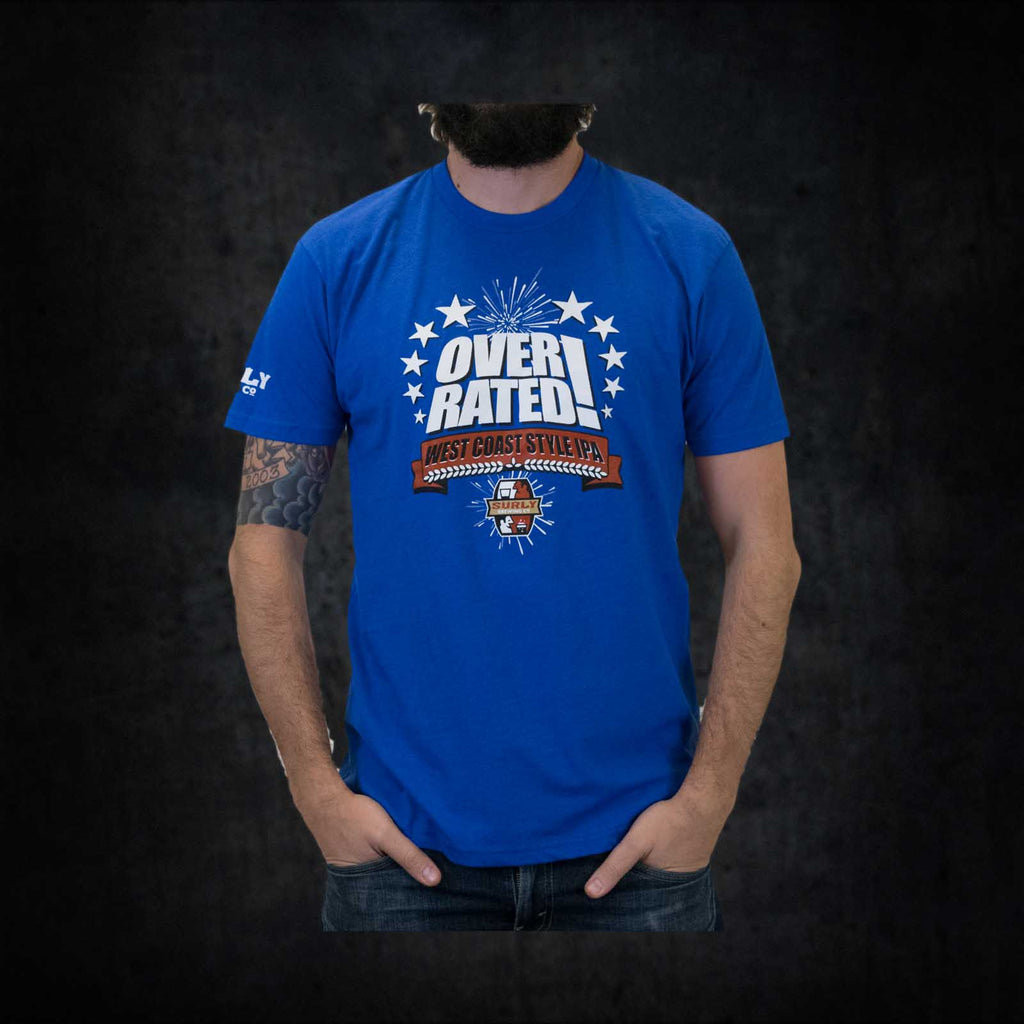 Men's Overrated Tee - Small