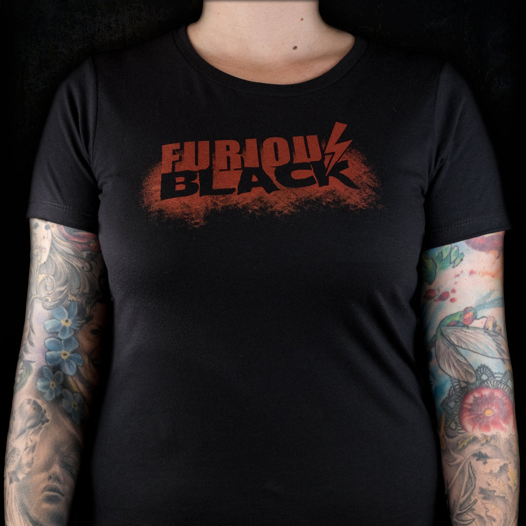 Women's Furious Black Tee