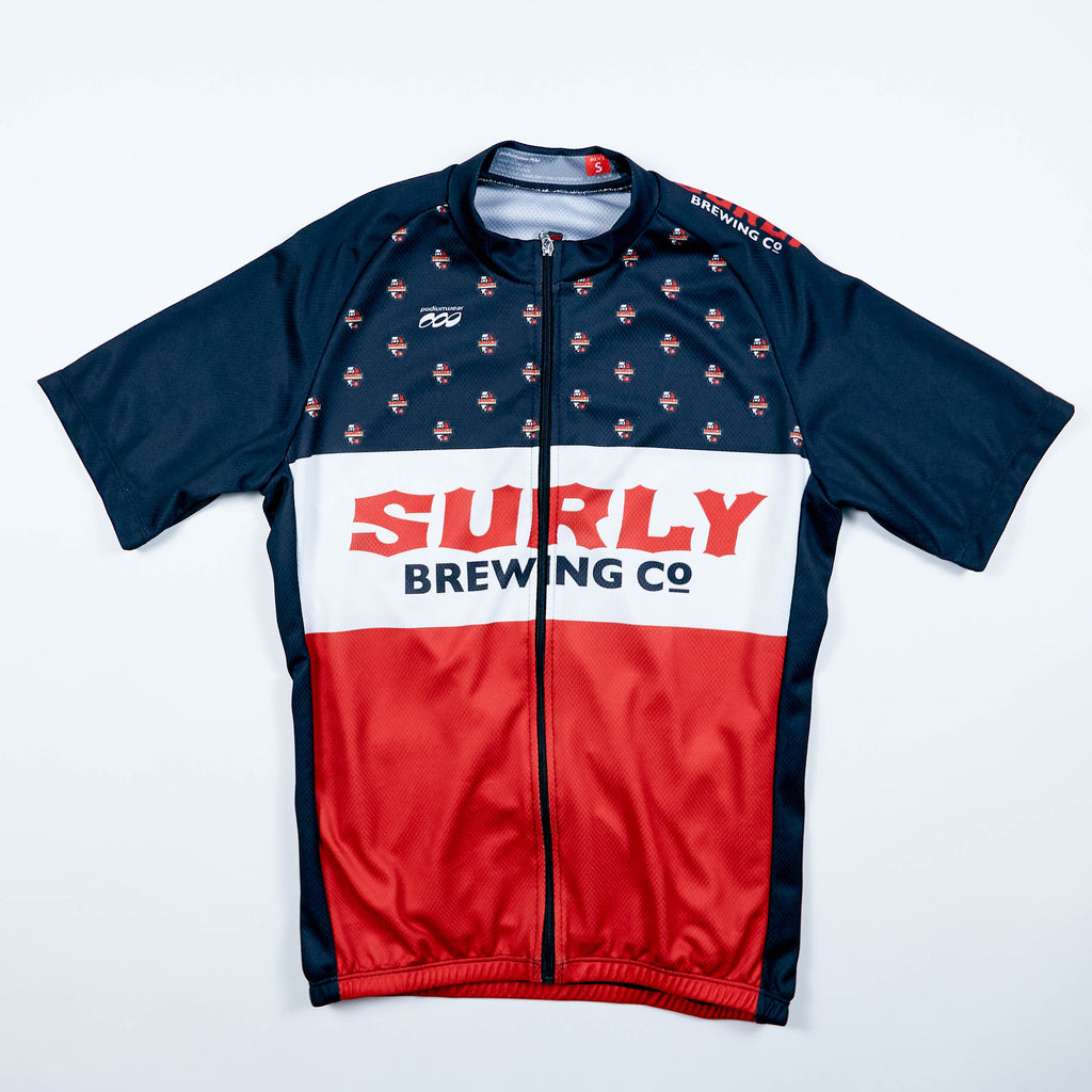 Men's Badge Logo SS Bike Jersey
