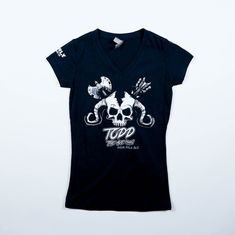 Women's Axe Man V-Neck Tee