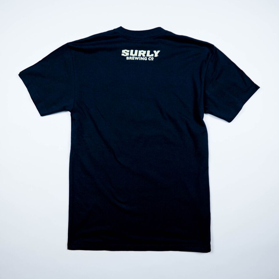 Men's S Logo Tee - Black