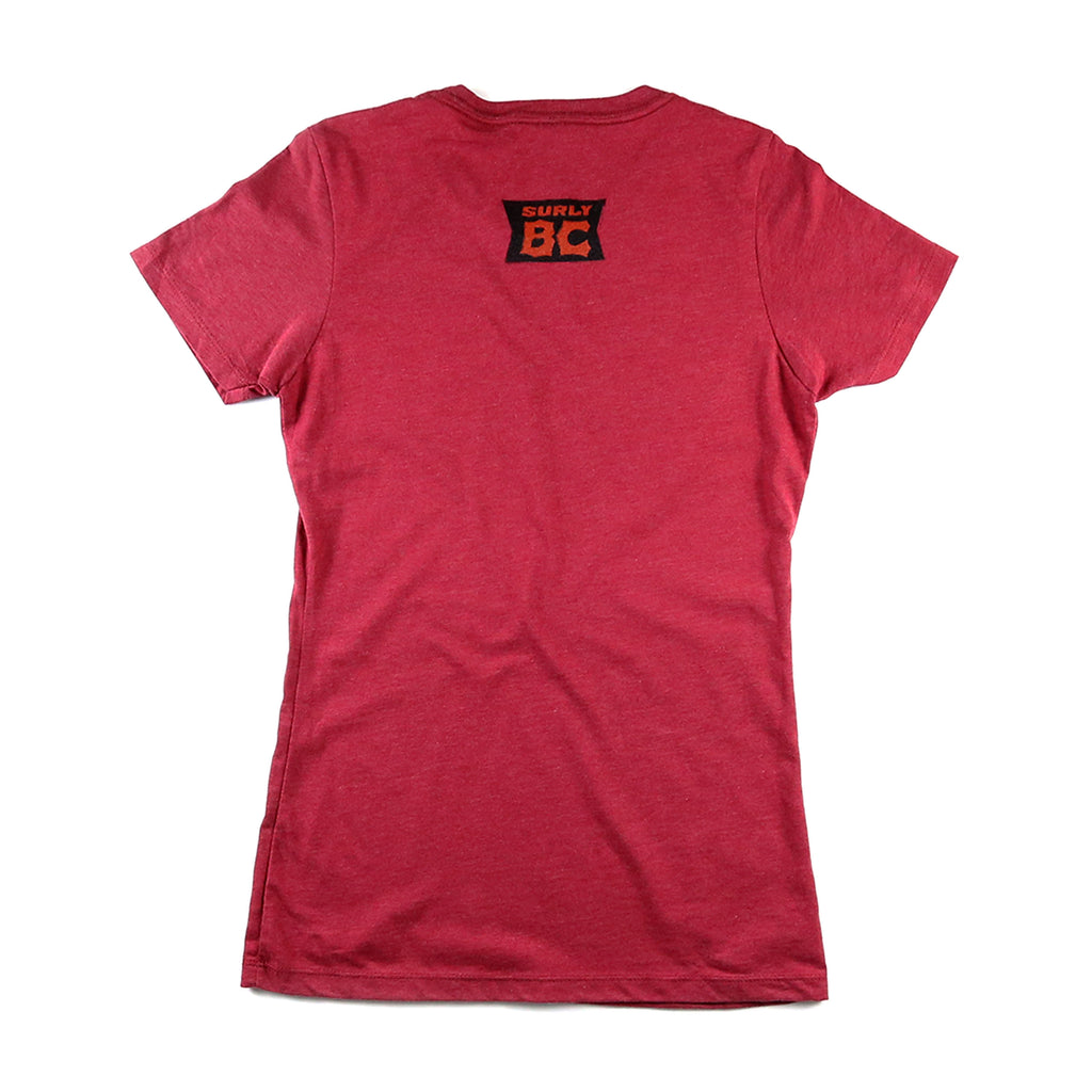 Women's BC Boiler Tee - Red