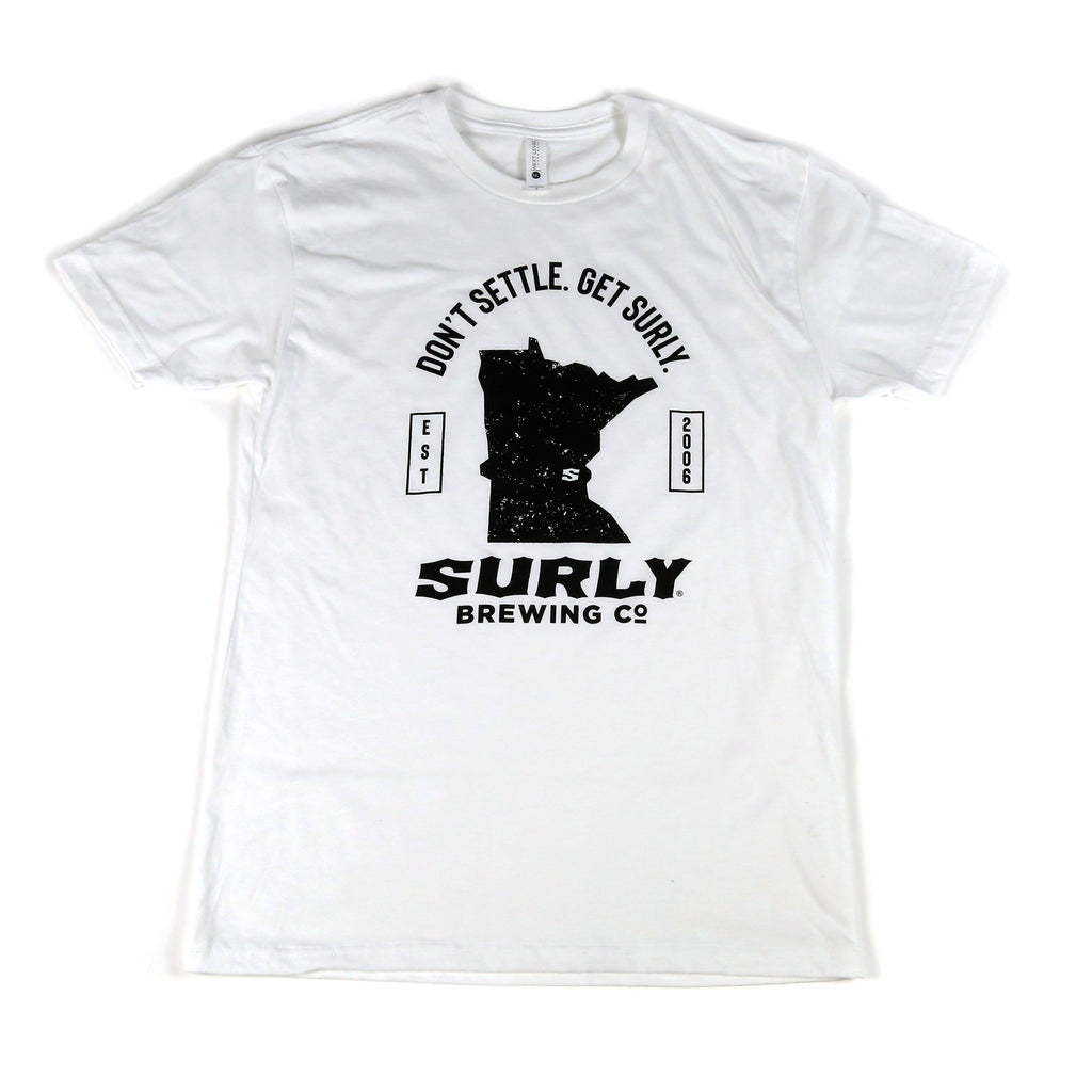 Get Surly MN State Tee - White