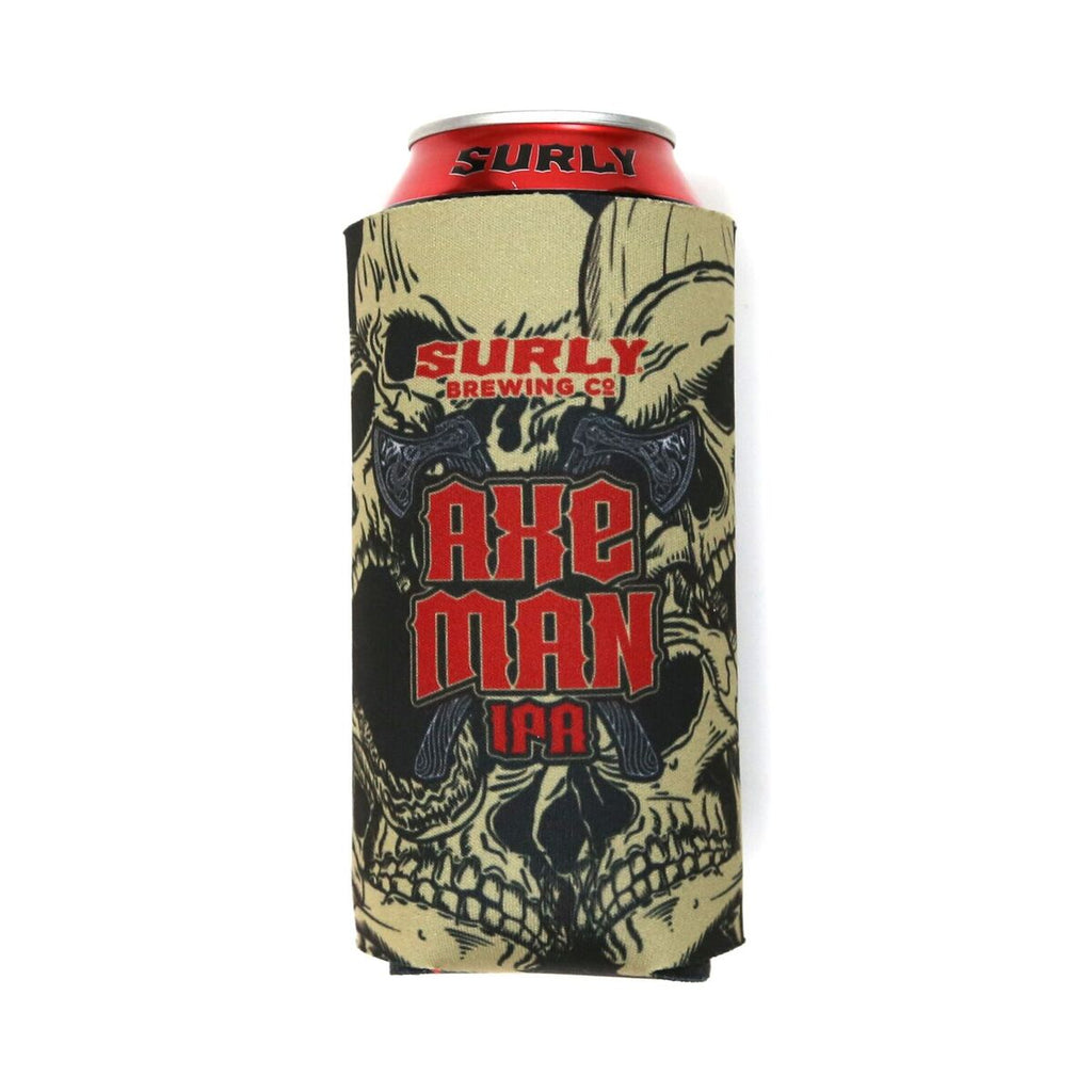 Axe Man 16oz Koozie - Black