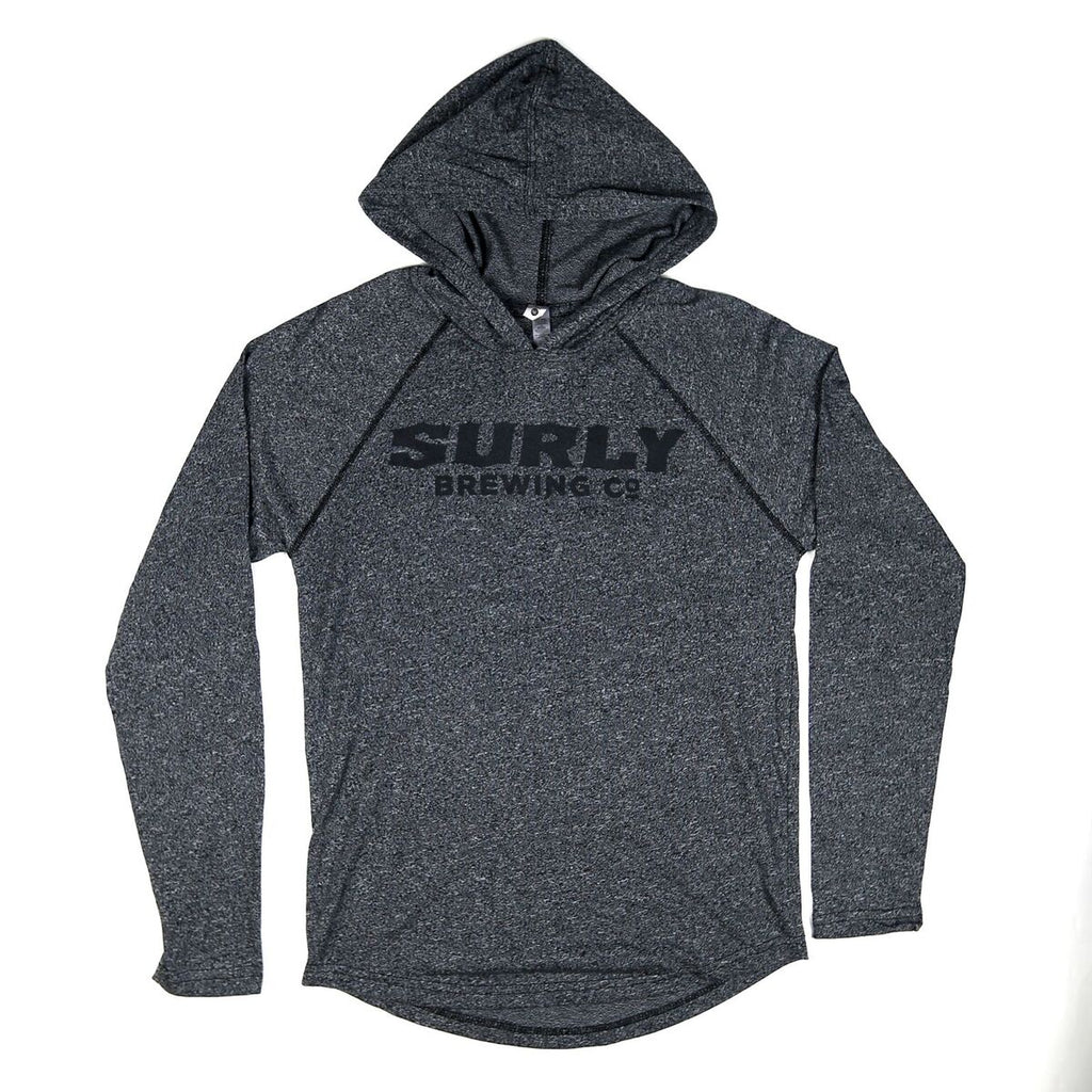 Summer Text Logo Hoodie - Black