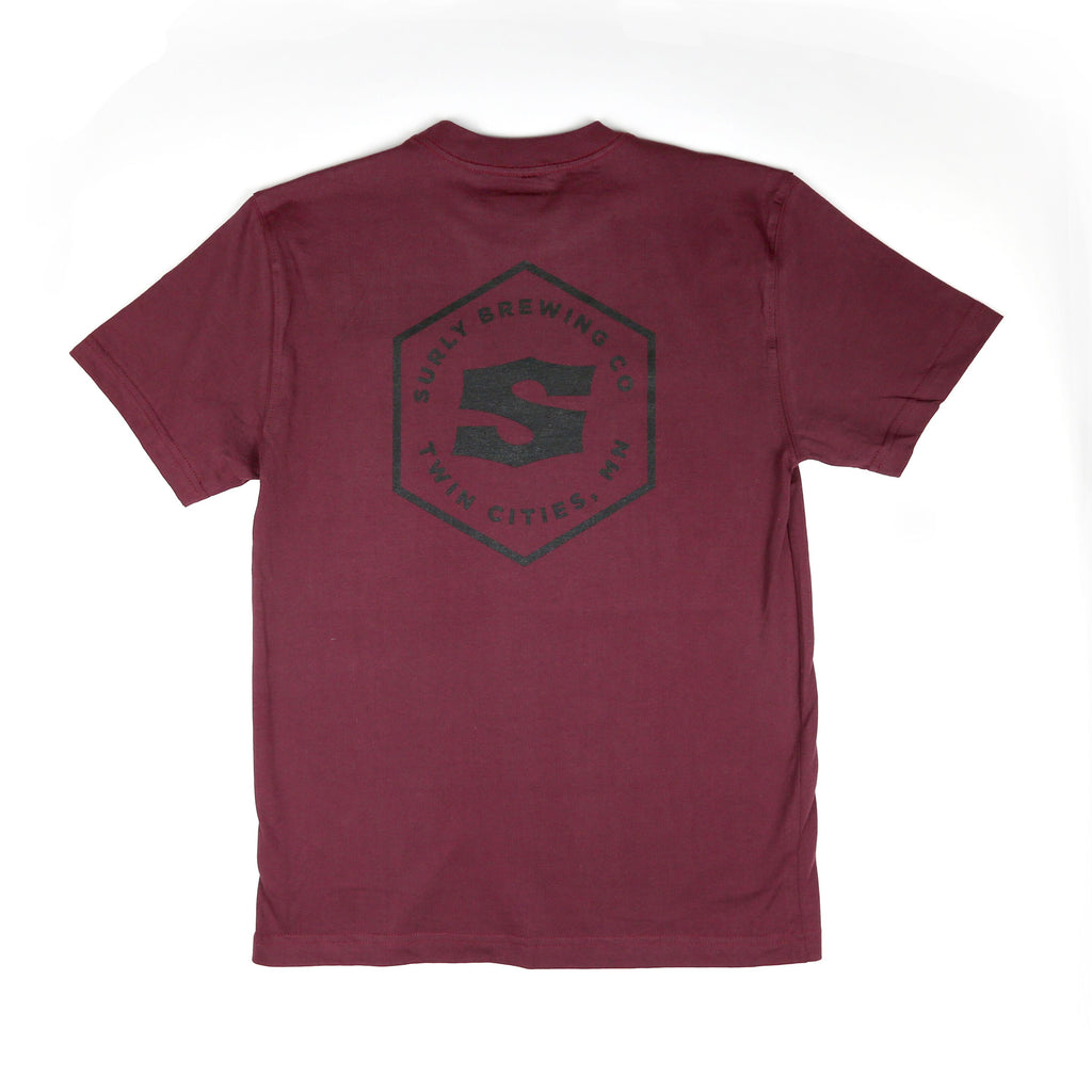 Dickies Surly Pocket Tee - Burgundy