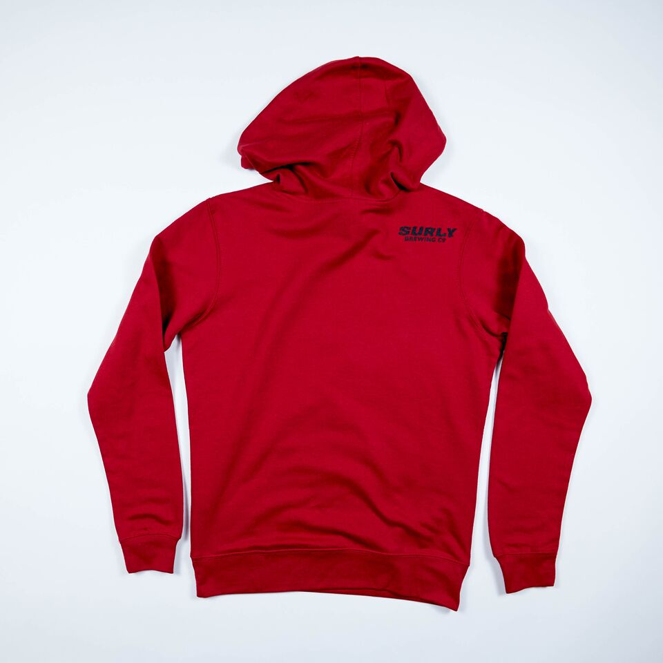 Women's Get Surly Hoodie - Red