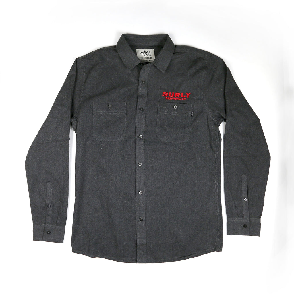 Flannel shirt - Charcoal