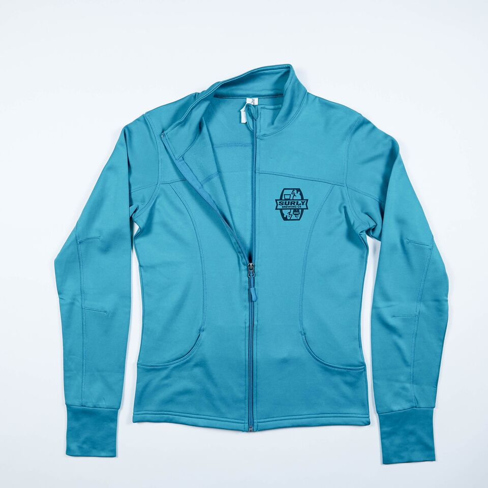 Women's Tech Zip Jacket - Green