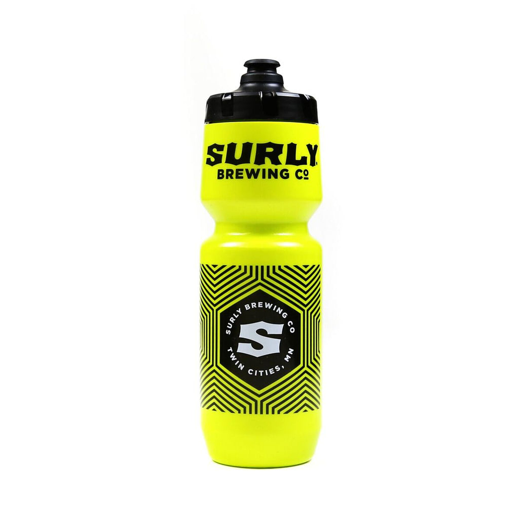 Surly Hex Pattern Cycling Bottle - Green/26oz