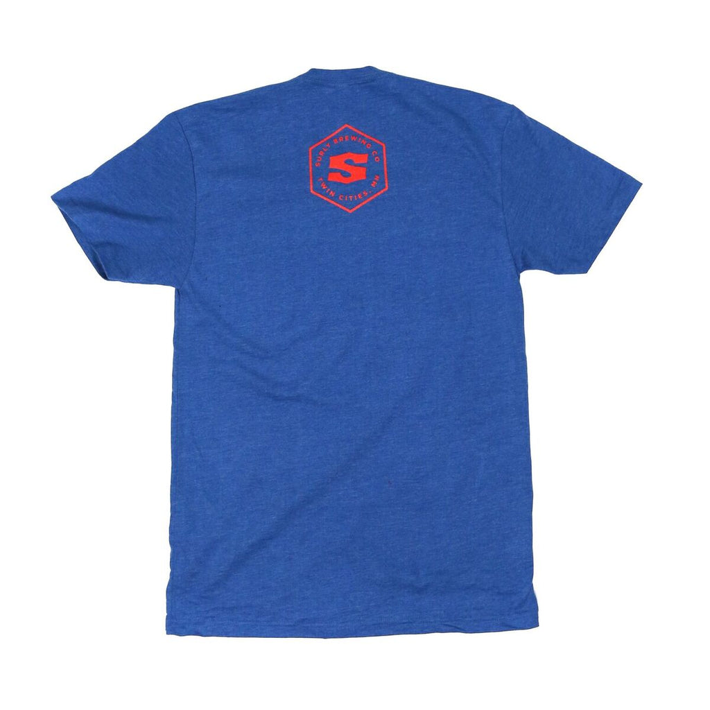 Men's Get Surly! Tee  - Blue
