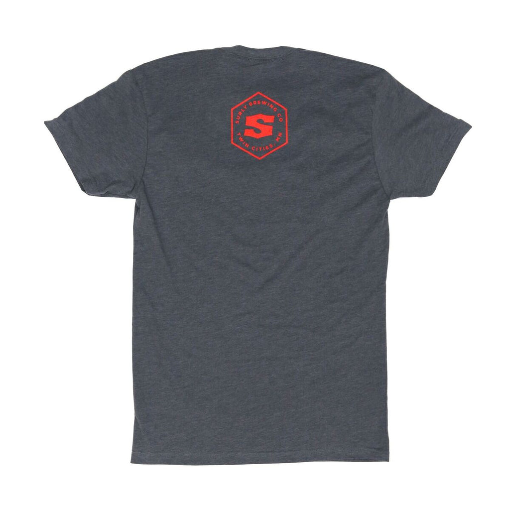 Men's Get Surly! Tee  - Gray